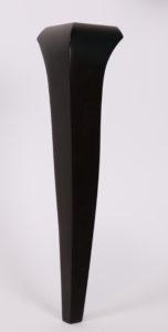 Noga z drewna czarna