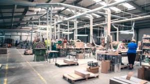 Produkcja nóg drewnianych Drew-Bak